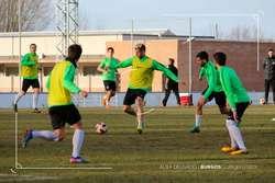Máyor podría debutar ante el Fabril con la camiseta del Burgos.