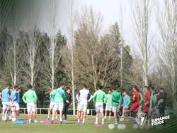 Imagen de la última sesión preparatoria del primer equipo.