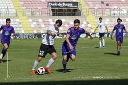 Chevi anotó el segundo gol blanquinegro ante el Celta B.