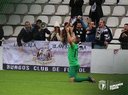 Juanma celebra el tanto de la victoria.