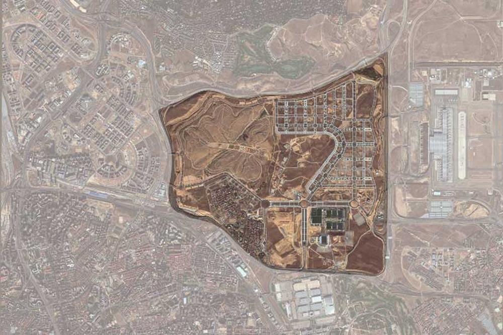 Ciudad aeroportuaria - Parque Valdebebas